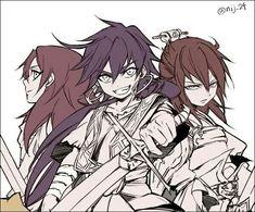 Mu, Kouen y Sinbad