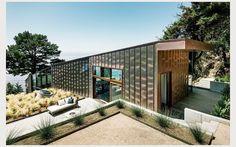 Villa aux murs de verre sur la côte californienne | Femina