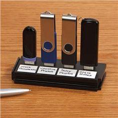 USB Flash Drive Organizer - Home Office | Lillian Vernon