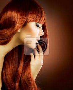 Fototapeta Portret Beauty. Zdrowe włosy