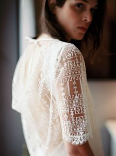 Wedding Dress by  Stéphanie Wolff  // Robes de mariée Stéphanie Wolff 2017