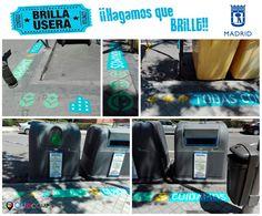 """Empieza la campaña """"Brilla Usera"""" del Ayuntamiento de Madrid, en la que hemos colaborado con Ángel Sesma de #Perricac ¡¡¡Cuida tu barrio, haz que brille!!! Feliz fin de semana :) #BrillaUsera #CuidaTuBarrio #HazQueBrille #Artecomp #TroqueladoDigital"""