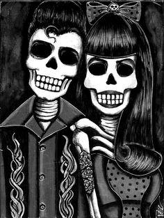 Skull rock 'n roll