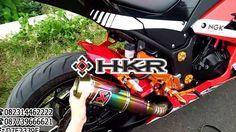 Tes Suara Knalpot Akrapovic GP M1 Lorenzo Rainbow Kawasaki 250 Ngebass G...