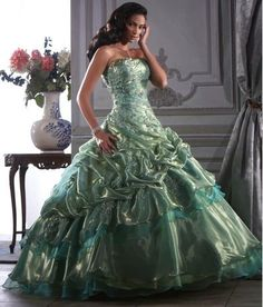 Ball Gown Strapless Organza Lace Up Quinceanera Dress Ball Gown Dresses, Prom Dresses, Dress Prom, Dresses 2014, Top Y Pollera, Strapless Organza, Organza Dress, Wedding Dresses Uk, Quinceanera Dresses