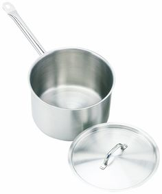 Crestware 2.625-Quart Stainless Steel Sauce Pan -- Click image to review more details.