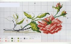 Thrilling Designing Your Own Cross Stitch Embroidery Patterns Ideas. Exhilarating Designing Your Own Cross Stitch Embroidery Patterns Ideas. Cross Stitch Rose, Cross Stitch Flowers, Cross Stitch Charts, Cross Stitch Patterns, Cross Stitching, Cross Stitch Embroidery, Hand Embroidery, Embroidery Patterns Free, Beading Patterns