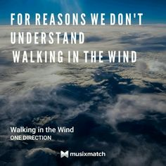 Walking In The Wind, One Direction