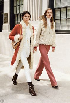 The Statement Maker: Luxurious Shearling | Tory Burch Outerwear