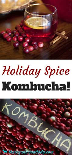 Are you looking for a special Kombucha flavor to brighten your holiday season? Then you will love this Holiday Spice Kombucha Recipe! Kombucha Flavors, Kombucha Recipe, Probiotic Drinks, Best Probiotic, Kombucha Tea, Kombucha Probiotic, Kombucha Brewing, Kombucha Fermentation, Kombucha Benefits