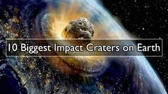 10 Biggest Impact Craters on Earth. Vredefort Crater. Asteroid impact date: Estimated 2 billion years ago. Sudbury Basin. Asteroid impact date: Estimated
