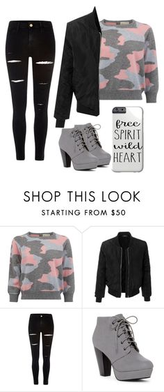 """going in Italy💋"" by melisa-diana ❤ liked on Polyvore featuring LE3NO and River Island"
