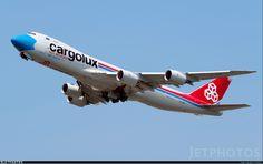 : Boeing 747-8R7F : Cargolux Airlines International : LX-VCF