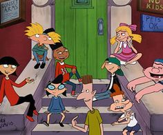 I may have grown up watching Hey Arnold! with my brother and sister, but the truth is, this hit Nickelodeon cartoon series always kind of freaked me out. Maybe it's because I'm generally pretty cre...
