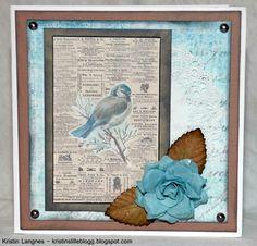 Kristins lille blogg: Fuglekort