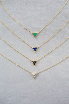 Lovoda - Stone Triangle Necklace, $20.00 (http://www.lovoda.com/stone-triangle-necklace/)