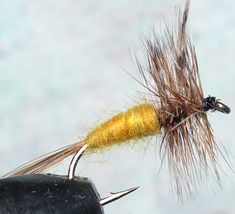 Adams Amber trout fly