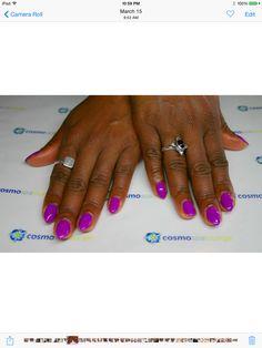 Neon bright #cosmospalounge #nailart #handpainted #neon #gelmanicure #gelish