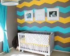 colorful baby nursery - Google Search