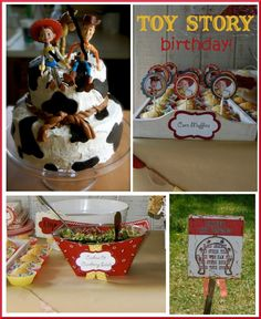 Wonderful yet not tacky Toy Story birthday party ideas from Pizzazzerie.com like the site!