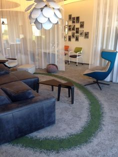 Cool Urban Retreat Biophilic rug