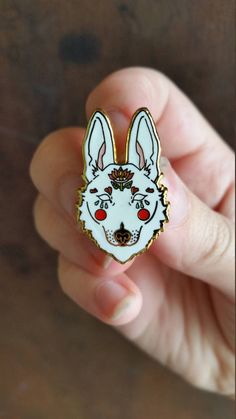 Hey, I found this really awesome Etsy listing at https://www.etsy.com/listing/502710092/white-wolf-hard-enamel-pin-lapel-pin