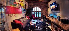 Film editing suite/bay