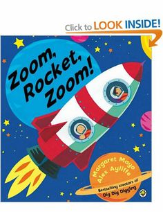 Zoom, Rocket, Zoom! (Awesome Engines): Amazon.co.uk: Margaret Mayo, Alex Ayliffe: Books