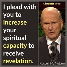 Revelation, President Russell M. Prophet Quotes, Jesus Christ Quotes, Gospel Quotes, Lds Quotes, Uplifting Quotes, Religious Quotes, Spiritual Thoughts, Spiritual Quotes, General Conference Quotes