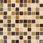 Daltile Heathland Sunset 12 in. x 12 in. x 8 mm Glazed Ceramic Mosaic Floor and Wall Tile-HL0822MS1P2 - The Home Depot