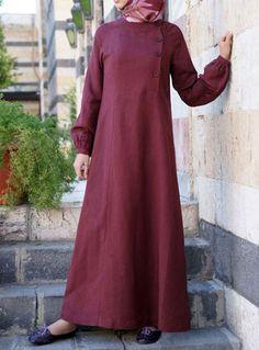 Aaqilah Linen Dress