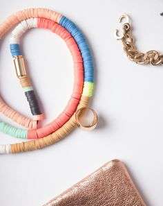 Julie Thevenot Long Multi Isiand Necklace