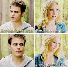 "#TVD 6x06 ""The More You Ignore Me, the Closer I Get"" - Stefan and Caroline"