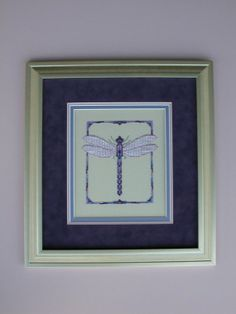 Dragonfly I Chart by RK Portfolio by RandeeK on Etsy, $7.00