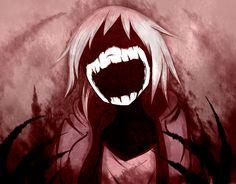 --Bloody Painter-- by Likesac on DeviantArt Creepy Drawings, Dark Drawings, Creepy Art, Evil Anime, Sad Anime, Anime Art, Gas Mask Art, Masks Art, Arte Horror
