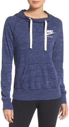 Women's Nike Sportswear Gym Vintage Hoodie   afflink