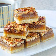 The+Best+Pecan+Pie+Bars.+So+quick+&+easy+to+prepare.