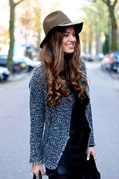 Olive Hat | Negin Mirsalehi