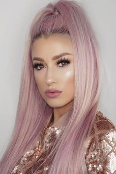 Straight Hair Styles Fascinating Pinterest  Nandeezy †  Flawless Makeup Of Beauty Queen's