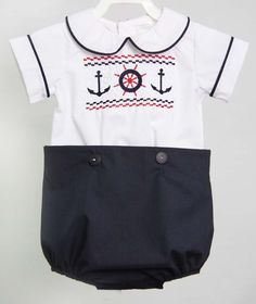 a31b763858b7 60 Best Nautical Baby Boy Clothes images