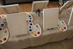 Kid s painting station