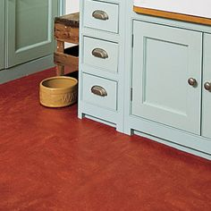 Choosing The Right Floor: Linoleum | Read This Before You Redo A Kitchen |  Photos