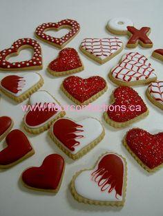 Valentines Cookies by Lisa Bujega