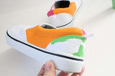 DIY Keith Haring Sneakers - Dream a Little Bigger