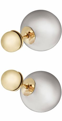 "MISE EN DIOR - ""MISE EN DIOR"" TRIBAL EARRINGS - dior.com (can email site for inquiries)"