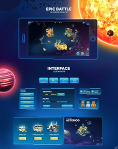 Space Defense on Behance