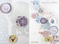 Designed by Nonna Peppy - Misty Forest Tableware collections, High quality melamine, manufactured in Germany   +972-54-4209973 www.nonnapeppy.com Photographs Credits : Styling : Orit Ezion www.facebook.com/... Photography : Anatoly Michaello Anatolymichaello.com Location : http://warendorf.co.il/en/   Graphic design - Yasmin design studio https://www.facebook.com/YasminDesign
