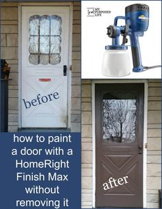 Finish Max Paint Sprayer Storm Door