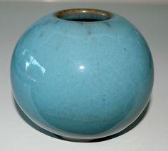 Nils Thorsson, one of, vase in stoneware, Royal Copenhagen Denmark. H: 9,5. W: 11.