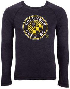 75141c812 Majestic Men Columbus Crew Sc Vital To Success Long Sleeve T-Shirt
